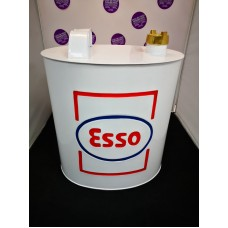 Esso Petrol Can Rounded