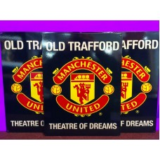 Manchester United Tin Sign