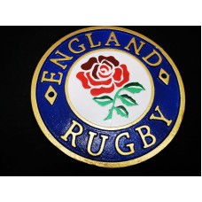 England Rugby Cast Iron Crest
