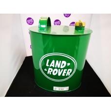 Land Rover round petrol car