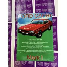 Ford Capri Tin Sign