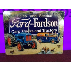 Ford and Fordson Tin Sign