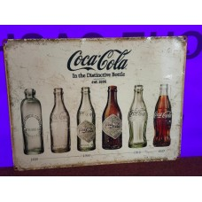 Coca-Cola Bottles Tin Sign