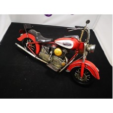 Red Chopper Motorbike