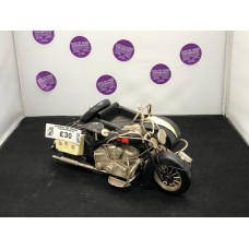 Black Motorbike with Sidecar