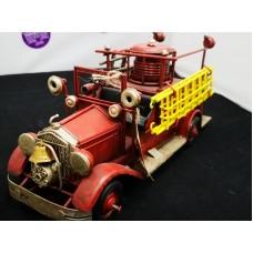 Vintage Fire Truck Metal Toy
