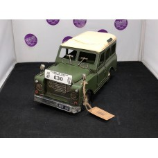 Land Rover Green Metal Toy