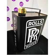 Rolls Royce Petrol Can Black
