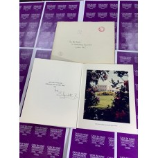 Queen Elizabeth R Queen Mother The Royal Lodge Christmas Card