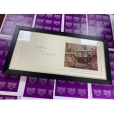 Queen Elizabeth R Queen Mother Framed Royal Christmas Card