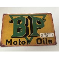 BP Small Tin Sign