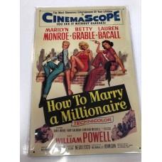 CinemaScope Small Tin Sign